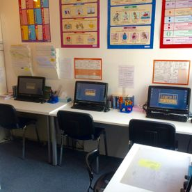 classroom computers, classroom display, surbiton